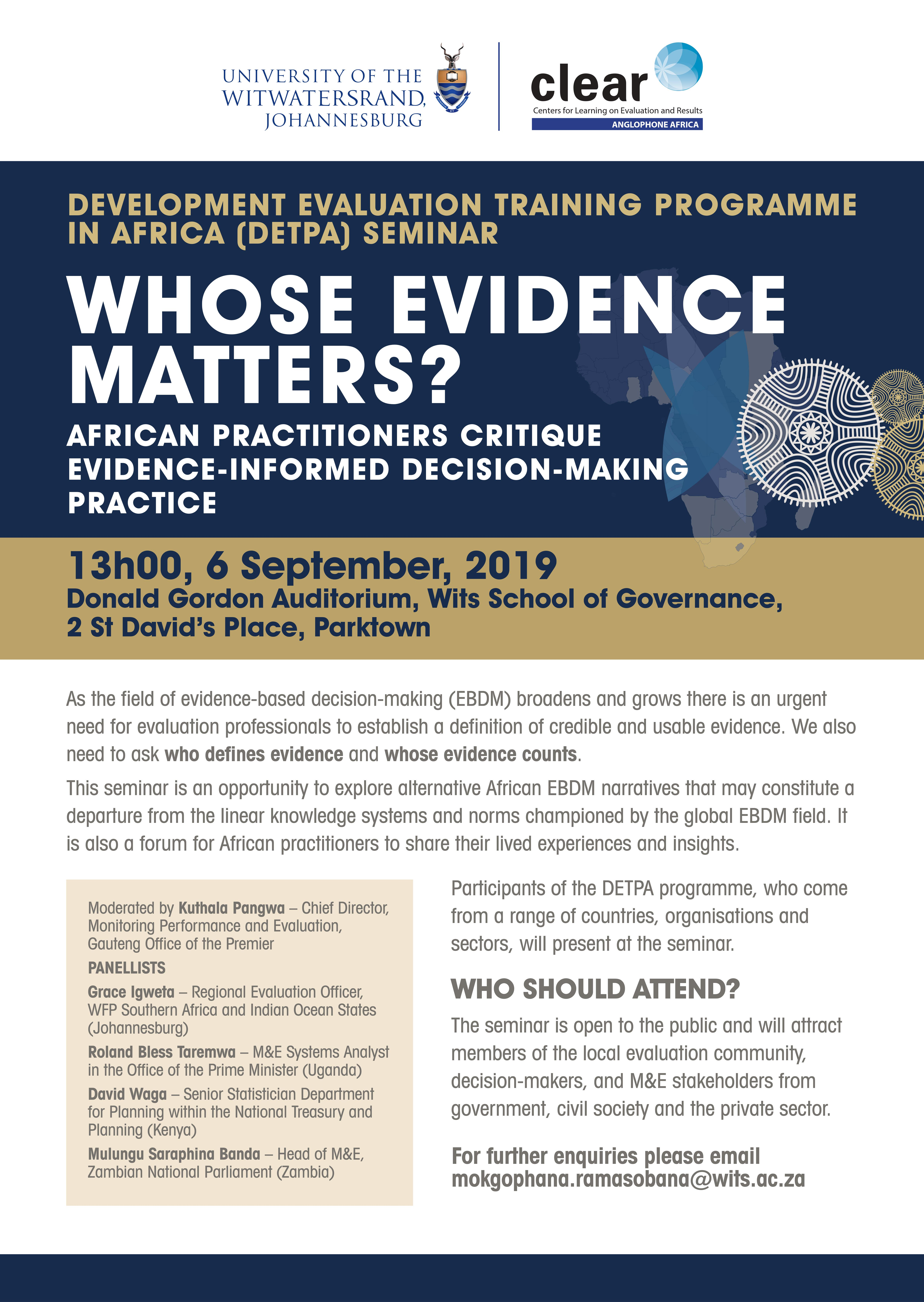Whose Evidence Matters?
