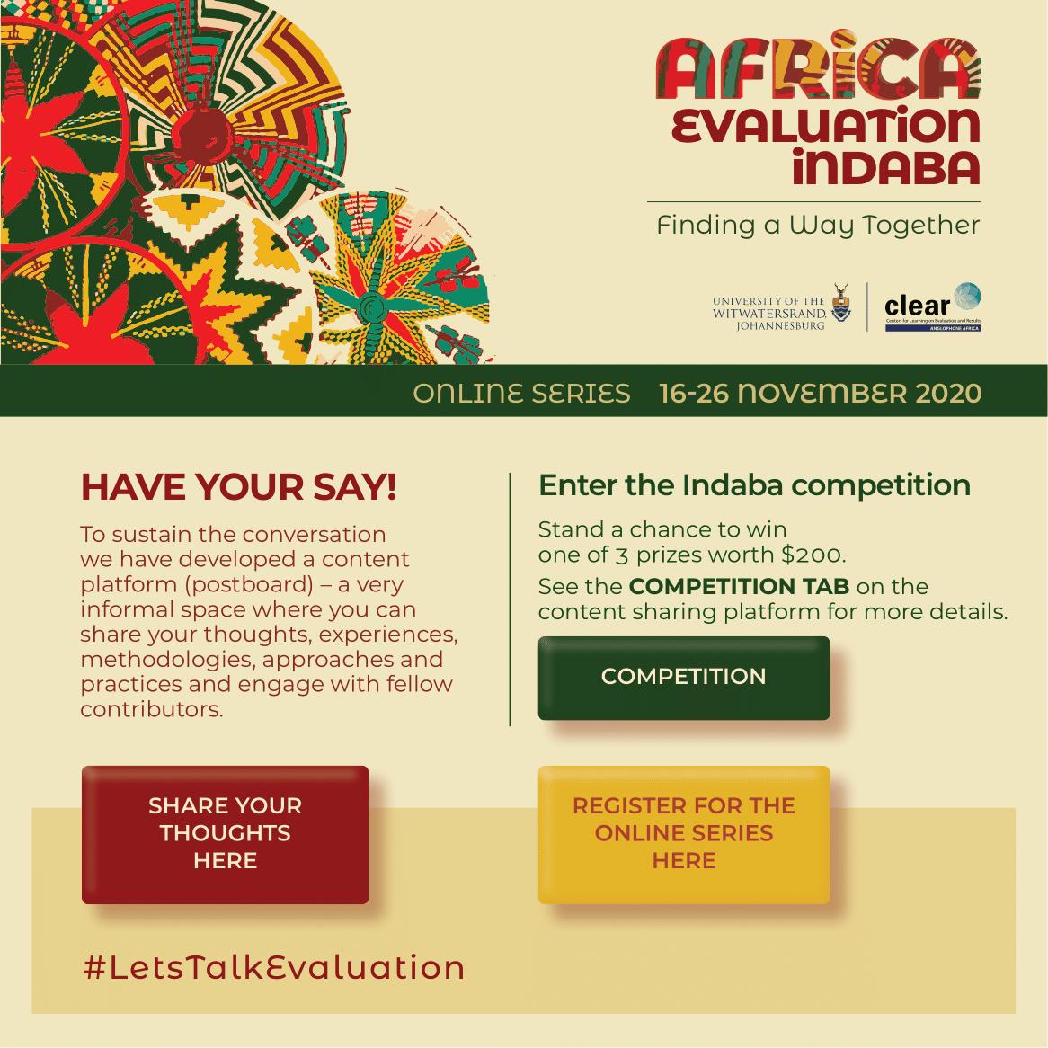 Africa Evaluation Indaba