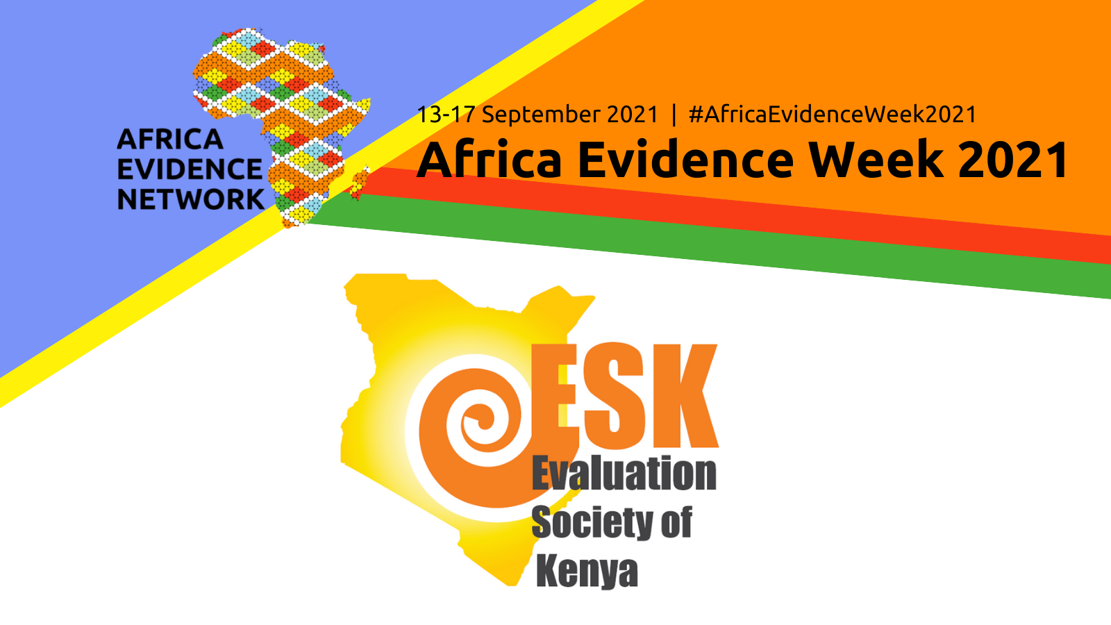 Africa Evidence Week 2021 event: Reporting and supporting use of evaluation findings for decision-making: Comparative analysis of Kenya and global evaluators' practices