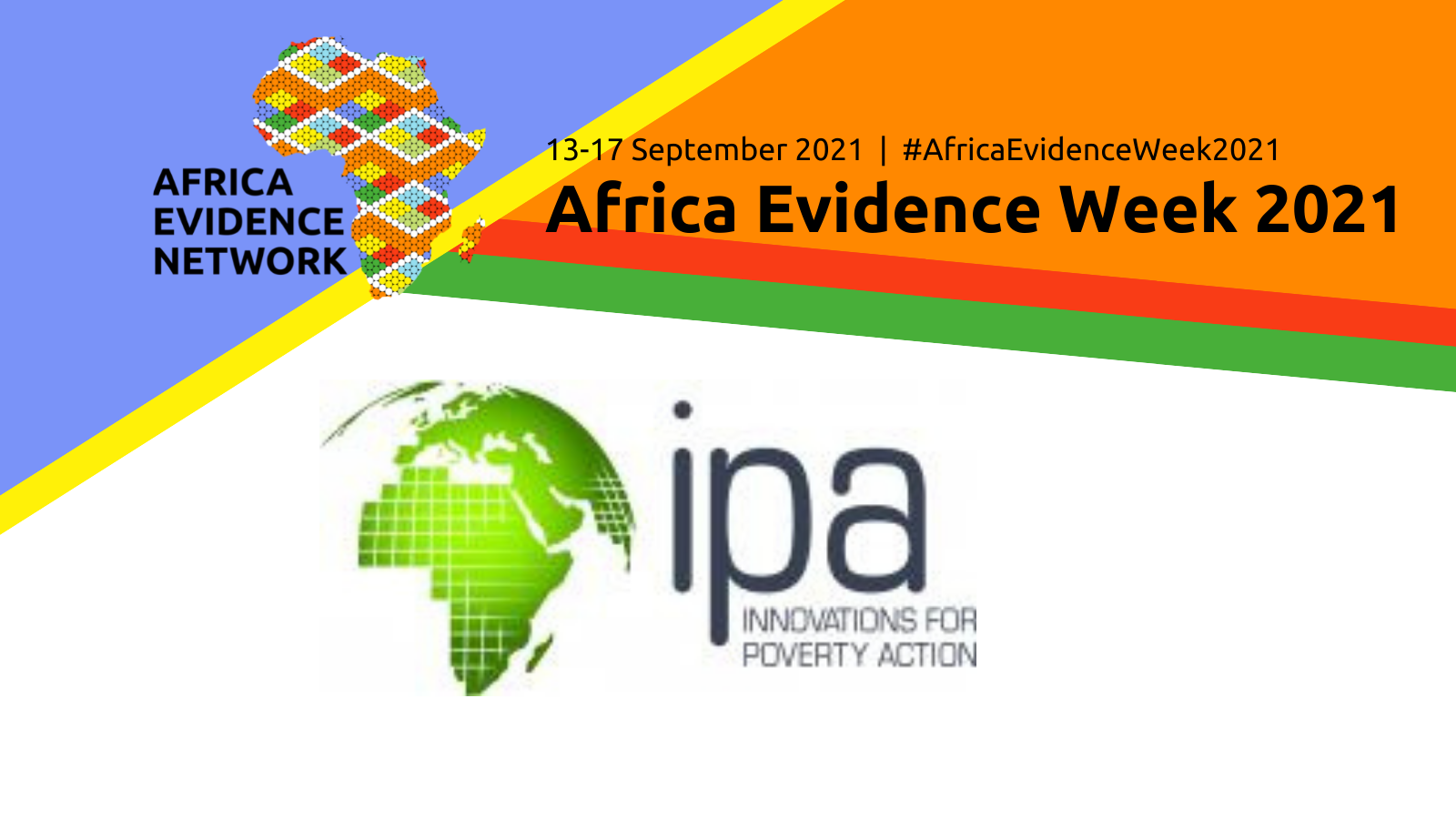 Africa Evidence Week 2021 event: Highlighting the Use of Evidence and Data to Inform Public Policy Changes in Kenya