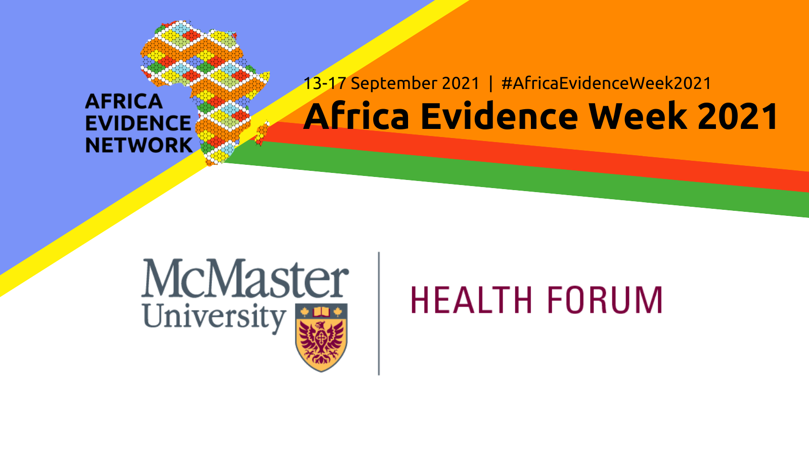 Africa Evidence Week 2021 event: Decisions informed by best evidence for responding to societal challenges