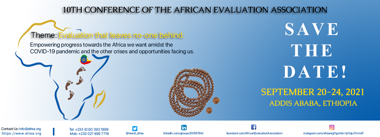 10th  AfrEA  International Conference