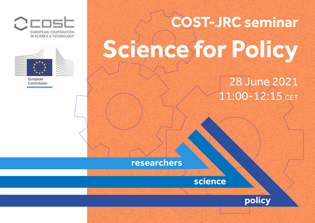 COST-JRC 'Science for policy' seminar