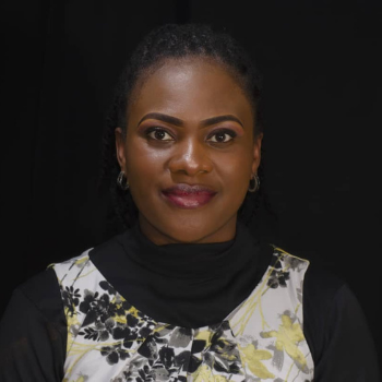 Ndi Euphrasia Atuh, researcher at Effective Basic Services (eBASE) Africa and co-director of Cameroon Consumer Service Organisation (CamCoSO)