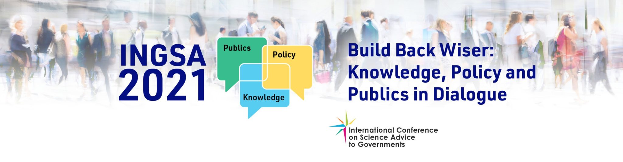 The 4th International Conference on Science Advice to Governments (INGSA) 2021