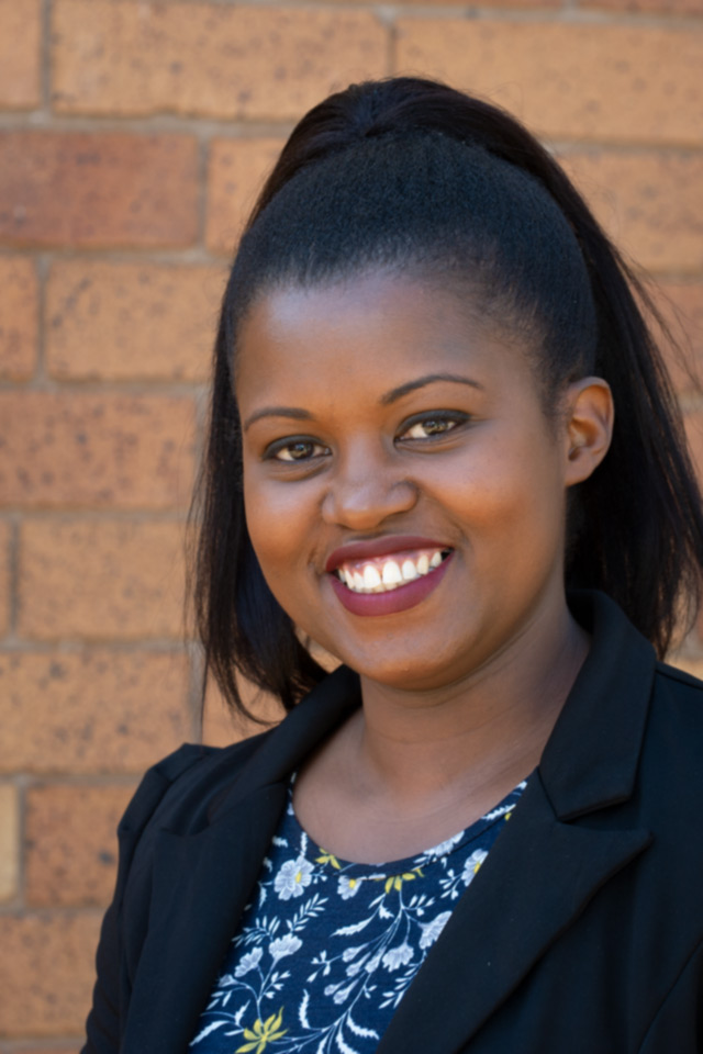 Dr Linda Etale, gender and environment specialist mainly focused on climate change adaptations.