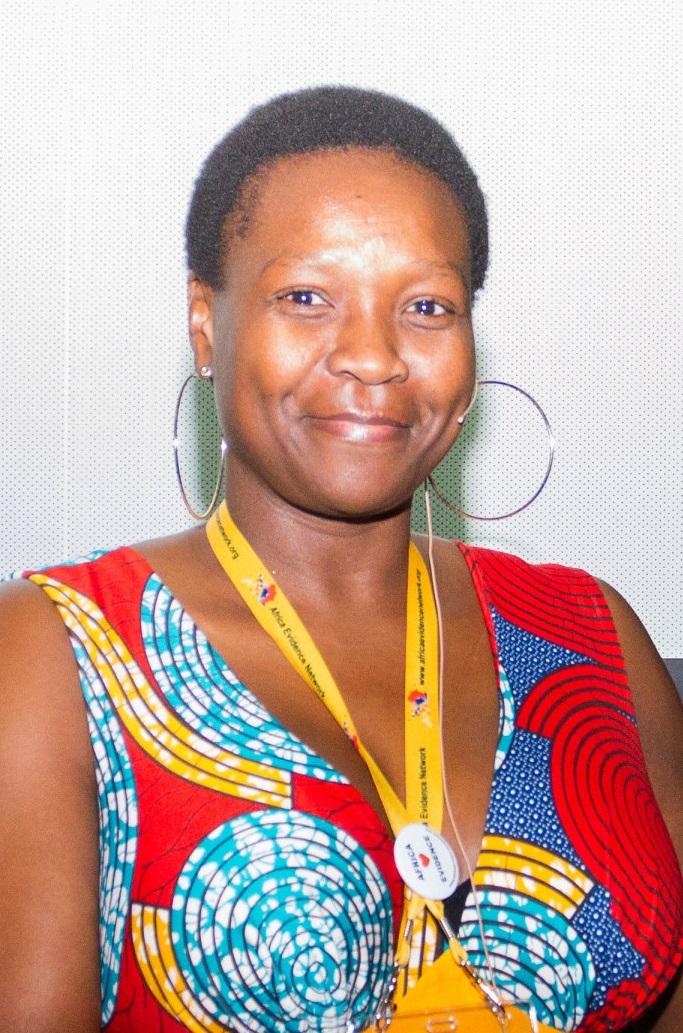 Siziwe Ngcwabe, Operations Manager - Africa Evidence Network,  Evidence Communities portfolio - ACE.