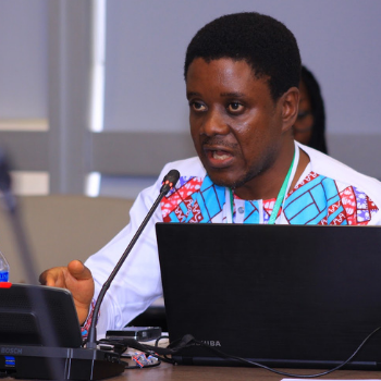 Eric Ngang, researcher and environmentalist, Cameroon