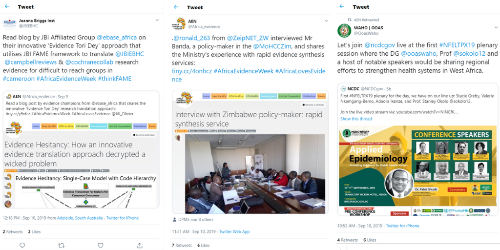 What happened on day 2 of Africa Evidence Week?