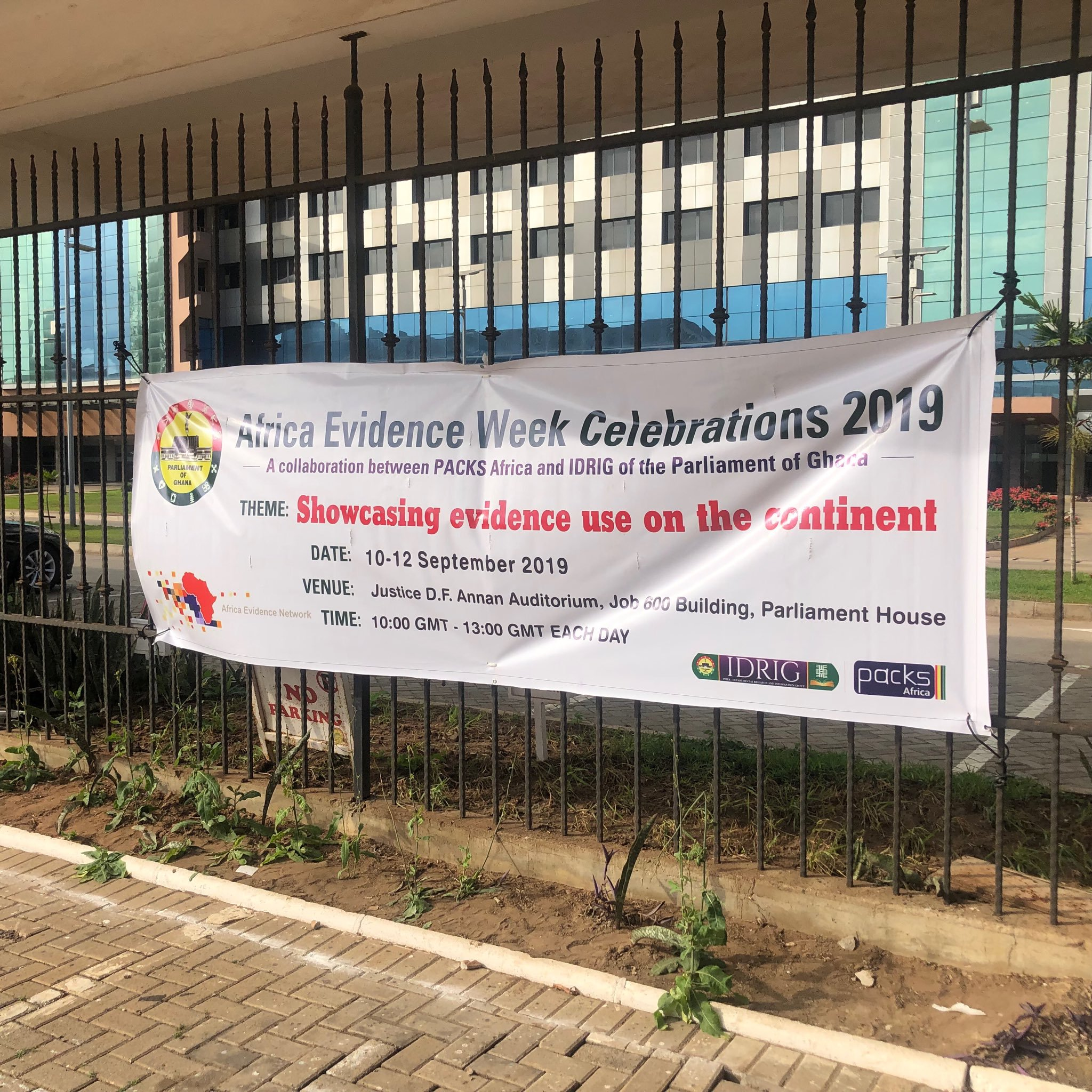 The #AfricaEvidenceWeek: What's happening in Ghana?