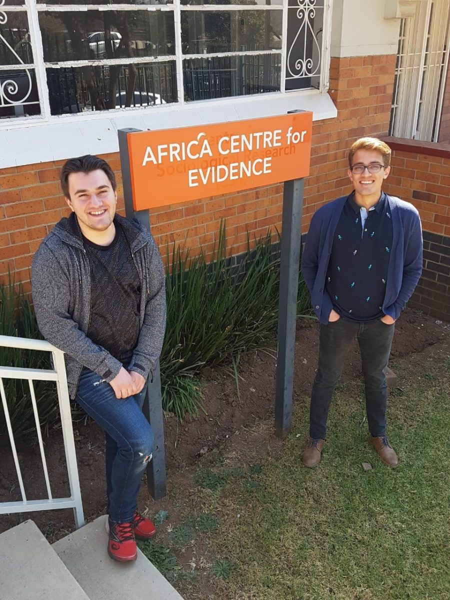 QES scholars learning about Africa's evidence production and use