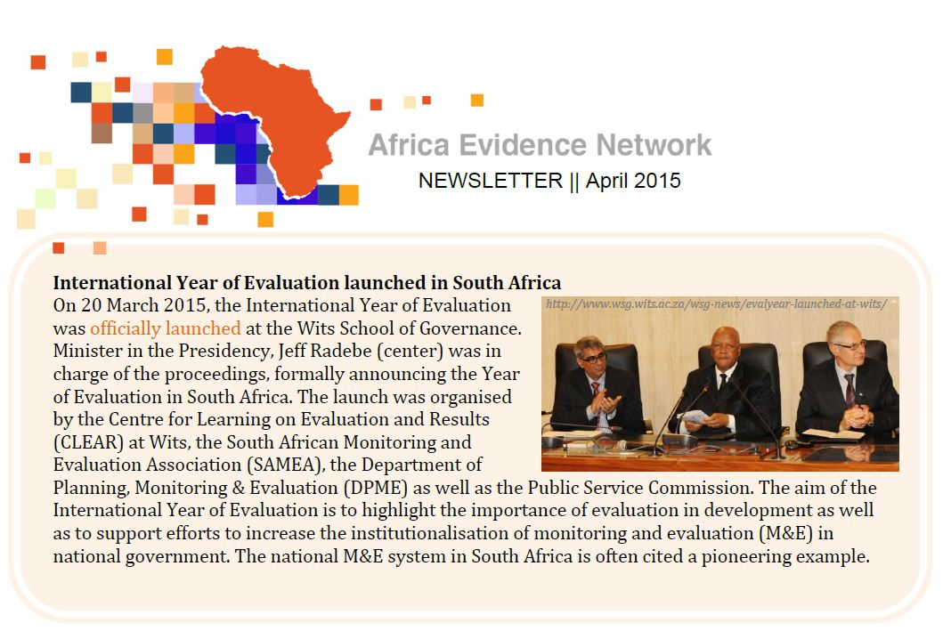 AEN April 2015 newsletter