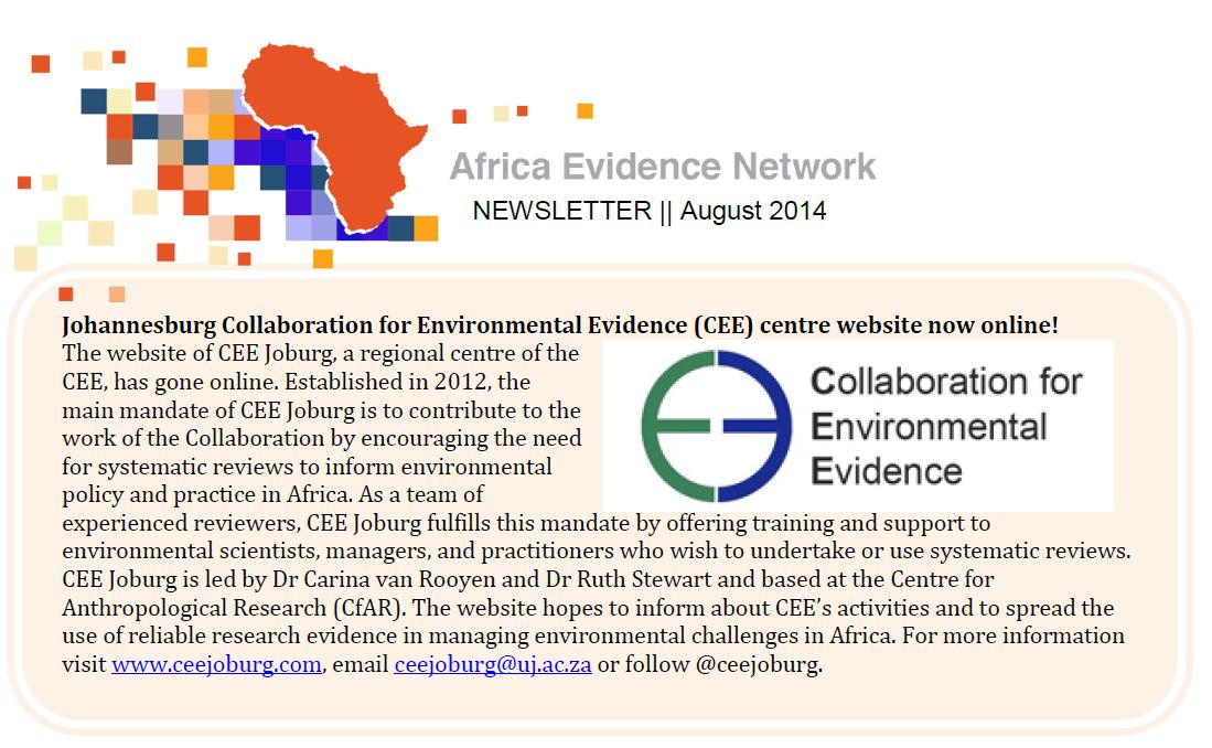 AEN August 2014 newsletter