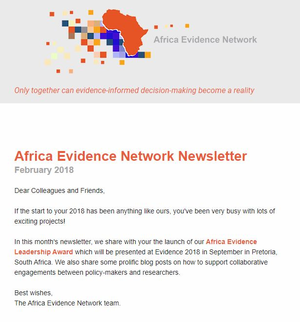 AEN February 2018 newsletter