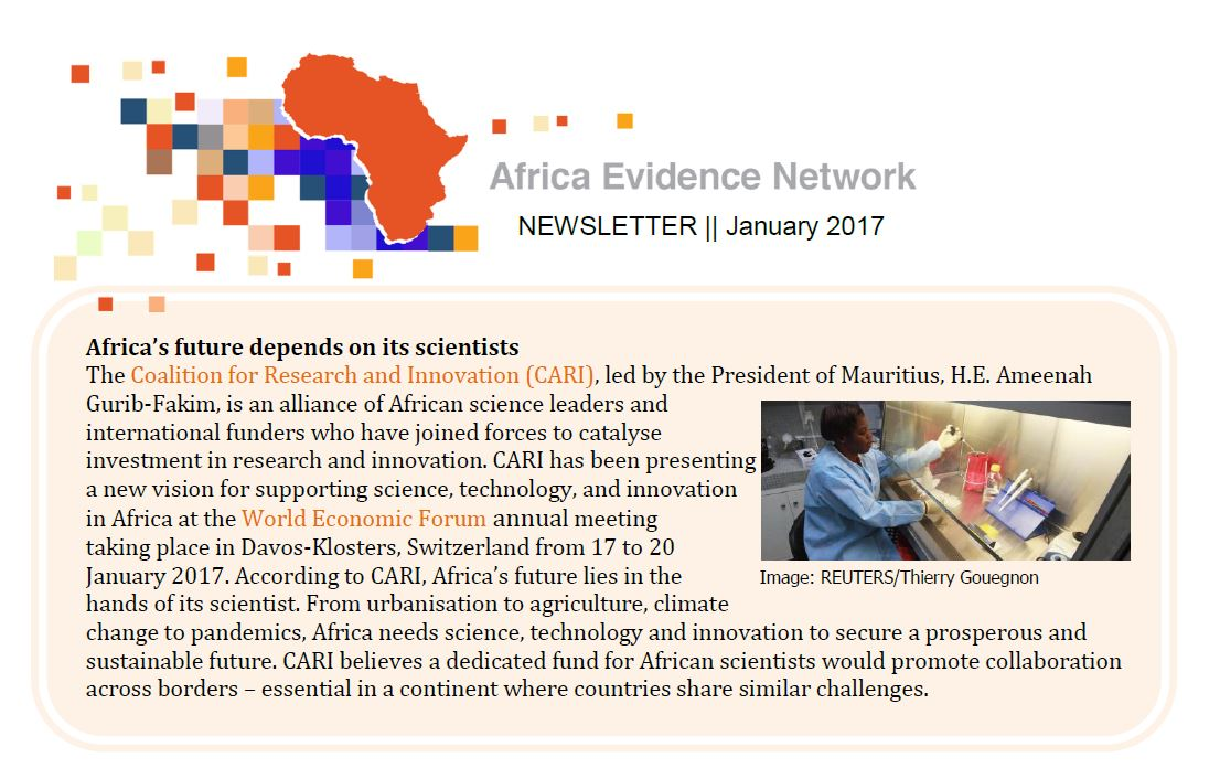 AEN January 2017 newsletter