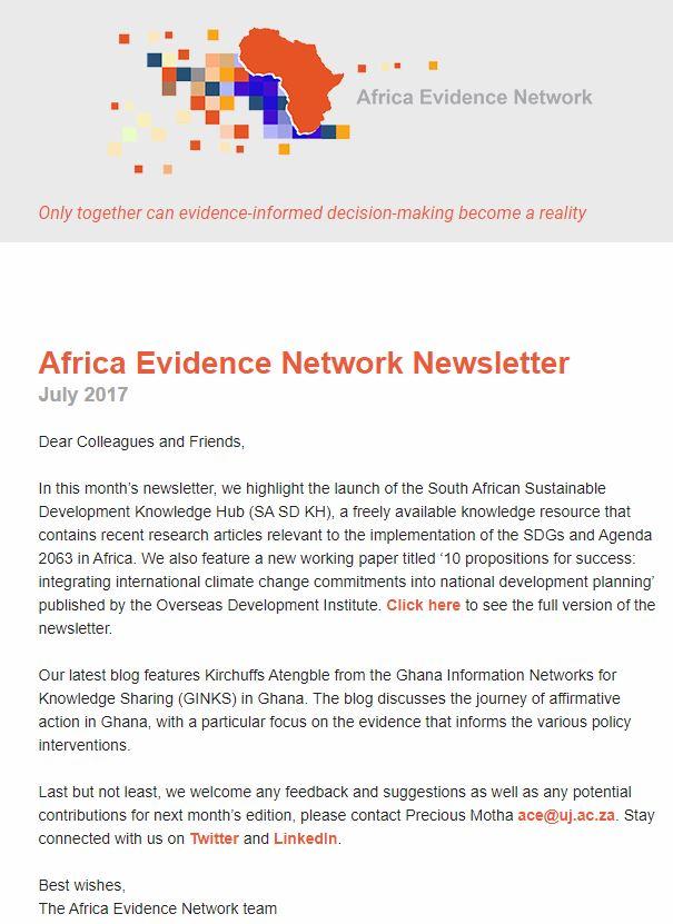 AEN July 2017 newsletter