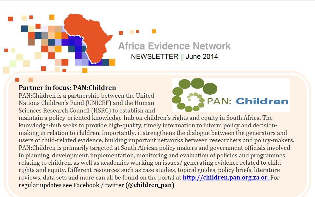 AEN June 2014 newsletter
