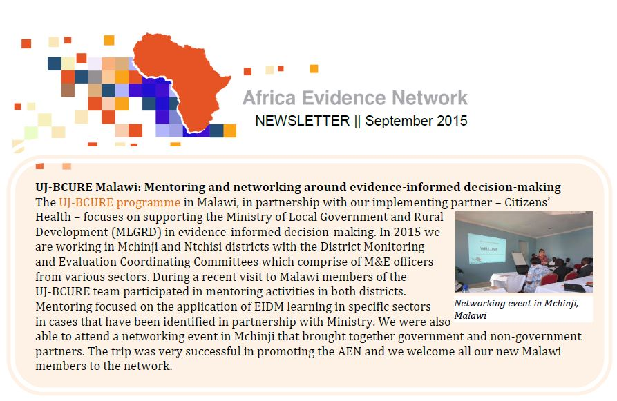 AEN September 2015 newsletter