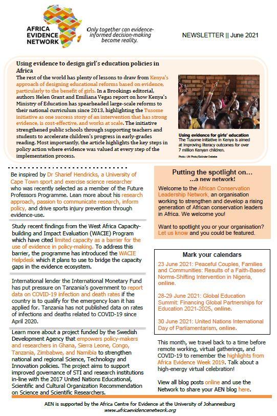 AEN June 2021 Newsletter