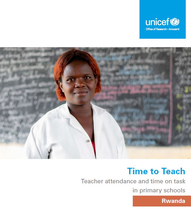 UNICEF Office of Research - Innocenti - Time To Teach (Rwanda)