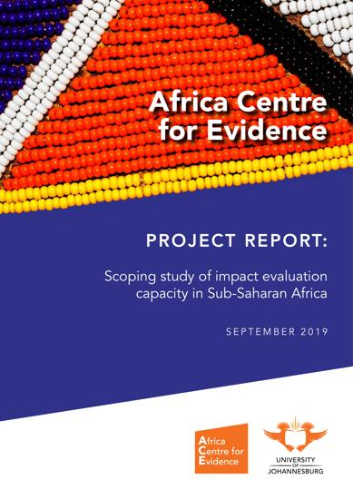 Scoping study of impact evaluation capacity in Sub-Saharan Africa