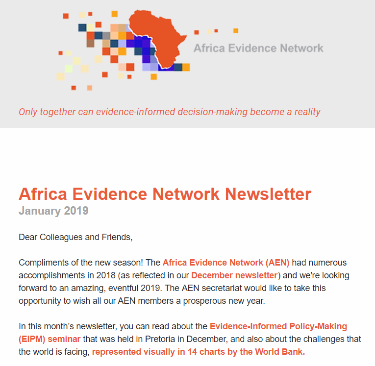 AEN January 2019 newsletter