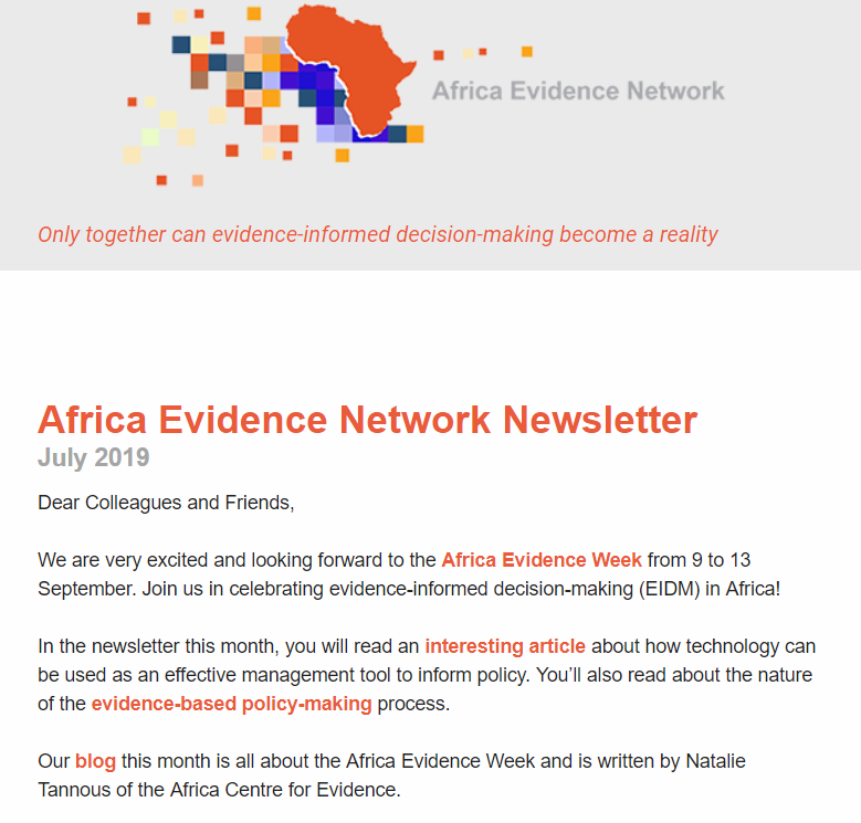 AEN July 2019 newsletter