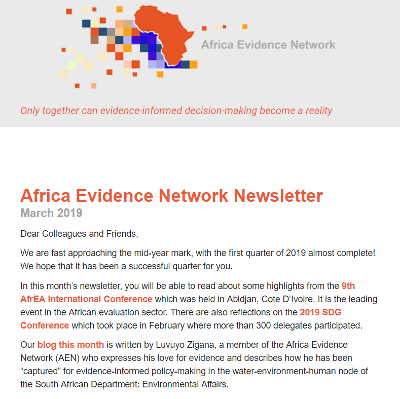 AEN March 2019 newsletter