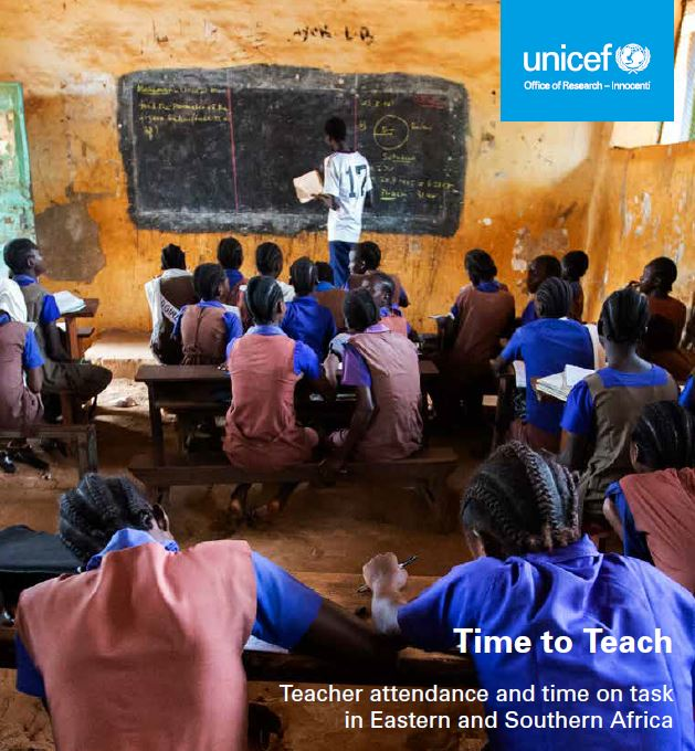 UNICEF Office of Research - Innocenti - Time To Teach report (Eastern and Southern Africa)