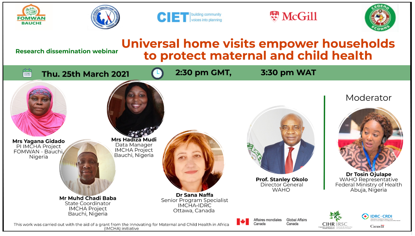 Universal home visits empower households to protect maternal and child health